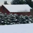 Winter It's Coming Folks by Judy Seltenright