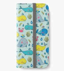 Whale magic iPhone Wallet/Case/Skin