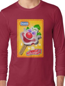 Killer Klown Popsicle Long Sleeve T-Shirt