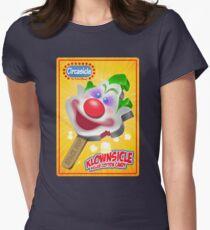 Killer Klown Popsicle Womens Fitted T-Shirt