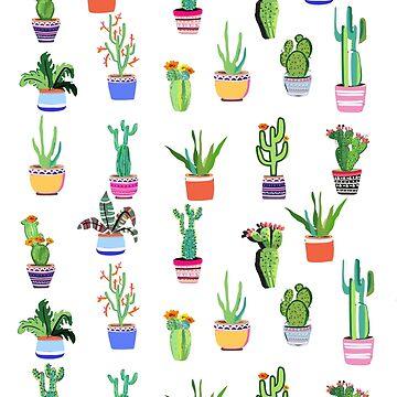 Cacti Land by muktalata-barua