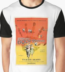 Invasion of the Body Snatchers Movie Poster Graphic T-Shirt