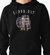 T Shirts Funny, Labor.day ,Men's T-Shirt,t shirt time Pullover Hoodie