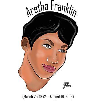 Aretha Franklin 1942-2018 Memorabilia by GTARTLAND