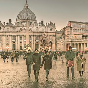 Conciliazione Street, Rome, Italy by DFLCreative