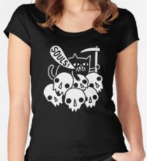 Cat Got Your Soul? Women's Fitted Scoop T-Shirt