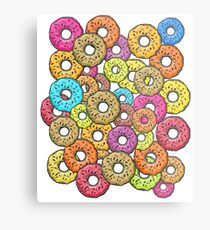 Donuts! Donuts! Donuts!  Metal Print