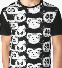 Retro Pandas Graphic T-Shirt