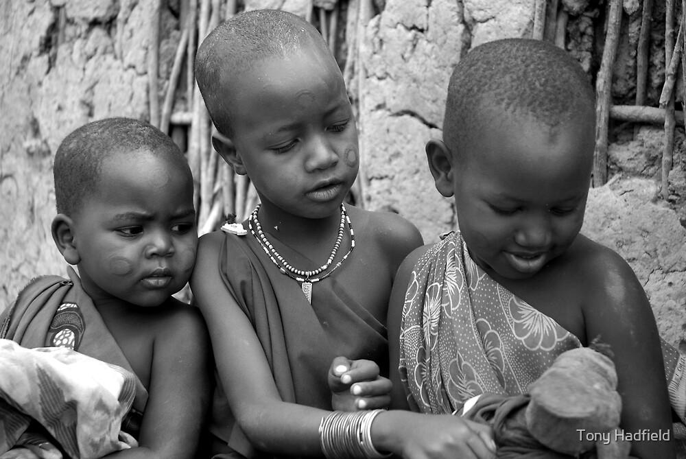 Masai Children by Tony Hadfield