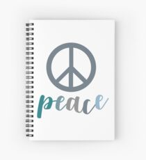 Peace- The symbol of peace Spiral Notebook