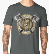 Fenrir Viking Shield (Full Color) Men's Premium T-Shirt