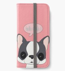HELLO DUDE iPhone Wallet/Case/Skin