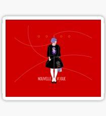 OOIOO Tokyo Fashion Wear rouge Sticker