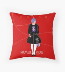 OOIOO Tokyo Fashion Wear rouge Throw Pillow