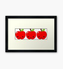 Apple Apple Apple! Framed Print