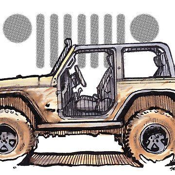 JK Wrangler Topless 2dr - Desert by robert1117