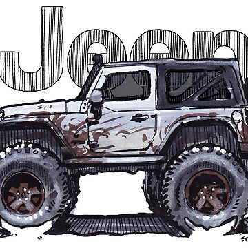 JK Wrangler Lifted 2dr - Ghost by robert1117