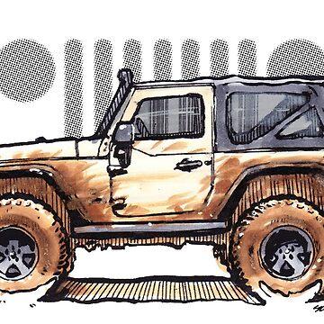 JK Wrangler 2dr - Desert by robert1117