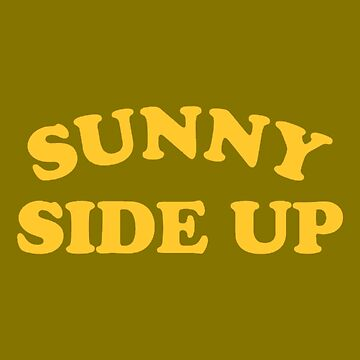 Sunny Side Up Sticker by nekhebit