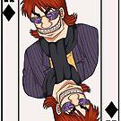 Kazuya the King of Diamonds by PixieBlossom12