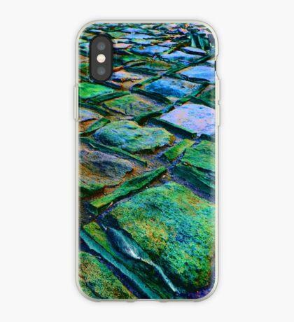 Square Stones Pathway Number 31 iPhone Case
