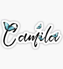 Camila X Butterflies Sticker