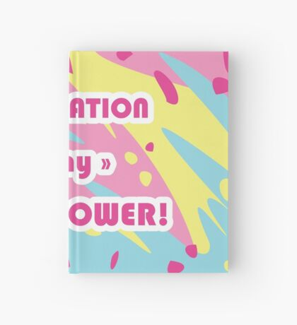 Imagination Is My Super Power! Hardcover Journal
