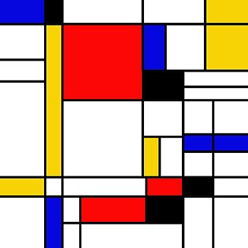 Bauhouse Mondrian Style by LuciaS