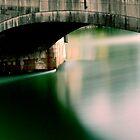 The Rhine Bridge in Switzerland by Imi Koetz