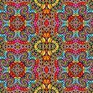 Tiled Xenomorph Kaleidoscope by wolfepaw