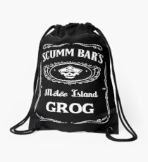 Scumm Bar's GROG Drawstring Bag