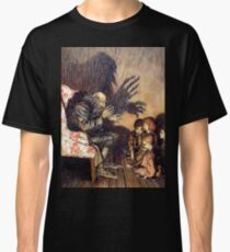 """The Storyteller"" from Rip Van Winkle by Arthur Rackham Classic T-Shirt"
