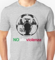 A Casual Classic iconic No Alla Violenza inspired t-shirt design Unisex T-Shirt