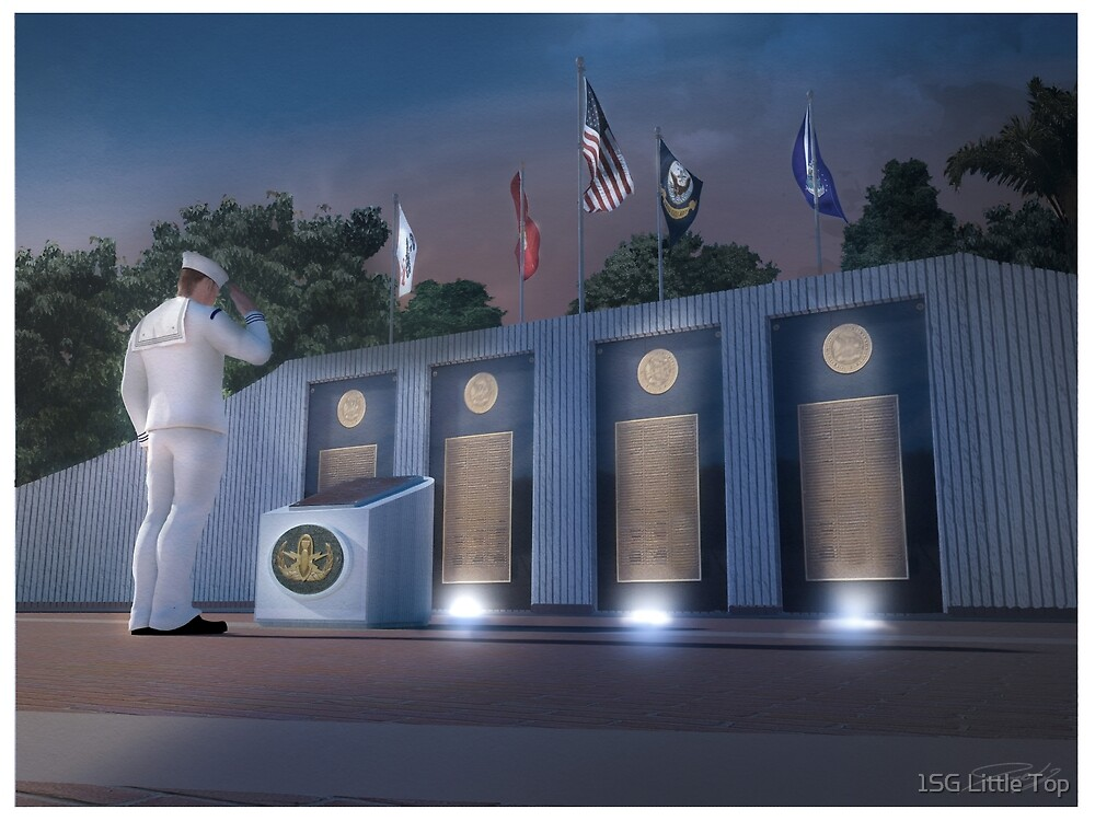 EOD Memorial by 1SG Little Top