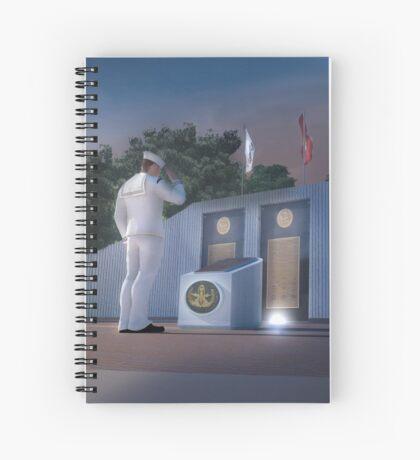EOD Memorial Spiral Notebook