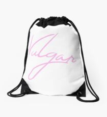 Vulgar Drawstring Bag