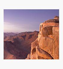 Mt. Sinai Summit of Egypt Photographic Print