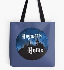 Hogwarts Is My Home Tote Bag
