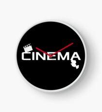 Cinema / Cinema Logo Clock