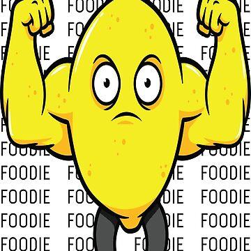 Jacked Lemon Foodie / Foodietoon by ProjectX23