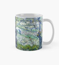 View of Arles, flowering orchards Mug