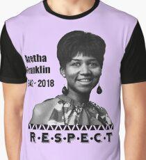 Aretha Franklin | 1942 - 2018 | Respect Graphic T-Shirt