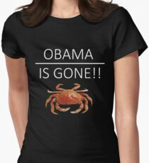 Obama Is Gone!! Women's Fitted T-Shirt