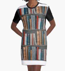 Bookcase  Graphic T-Shirt Dress