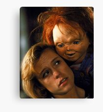 Child's Play 2 - Kyle & Chucky Canvas Print