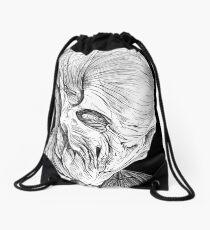 The Silence Drawstring Bag