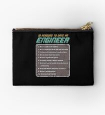 10 Reasons To Date An Engineer Studio Pouch