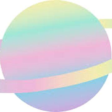 Rainbow Saturno de hcross214