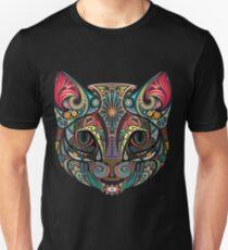 Camiseta unisex gato mandala