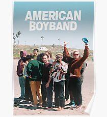 BROCKHAMPTON - AMERICAN BOYBAND Poster